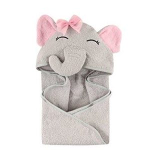 Terry cotton baby hooded towel