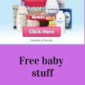 Free baby stuff 2020 (samples, coupons and giveaways)