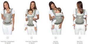 baby carrying positions
