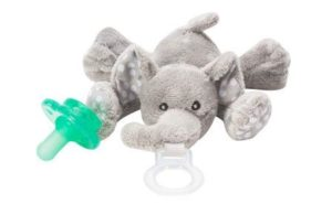 Pacifier with the stuffed animals