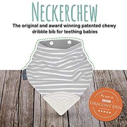 Baby Bandana Drool Bib with Attached Silicone Soother