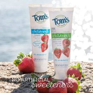Toms baby toothpaste