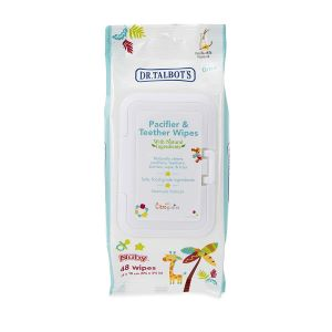 Teether wipes