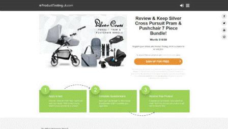 Product Testing - SilverCross Nursery Furniture (UK)